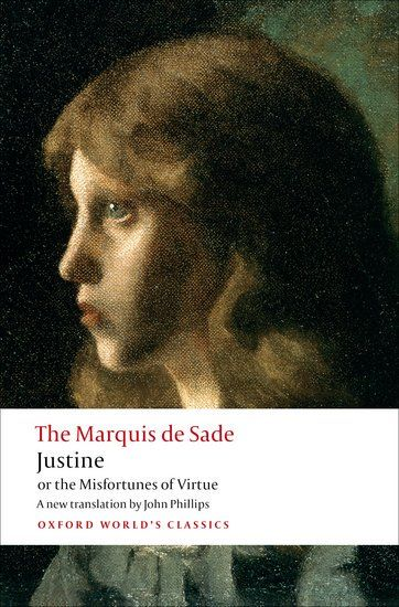 'I have become whore through goodwill and libertine through virtue.' - Justine, by Marquis de Sade, born #OTD (June 2) 1740.  News about #OTD on Twitter