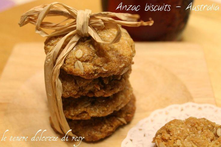 le tenere dolcezze di resy: Anzac biscuits - gli storici biscotti delle truppe...