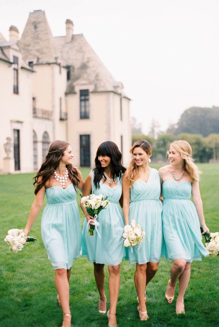 89 best blue bridesmaid dresses images on pinterest navy blue aqua blue wedding weddington way spring 2014 ombrellifo Choice Image