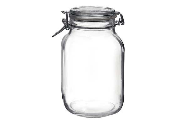 Cookinglife - Bormioli Weckpot Fido Vierkant 2 Liter
