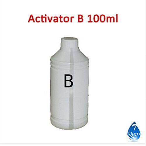 Activateur B 100ml pour l'eau de transfert de film/déclencheur pour hydrographique Film d'impression, tissu décoratif: Frequently Bought…