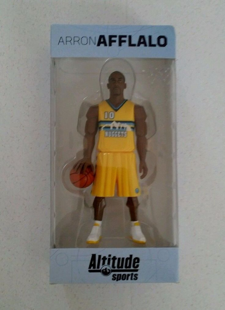Denver nuggets Altitude Sports Arron Afflalo new in package
