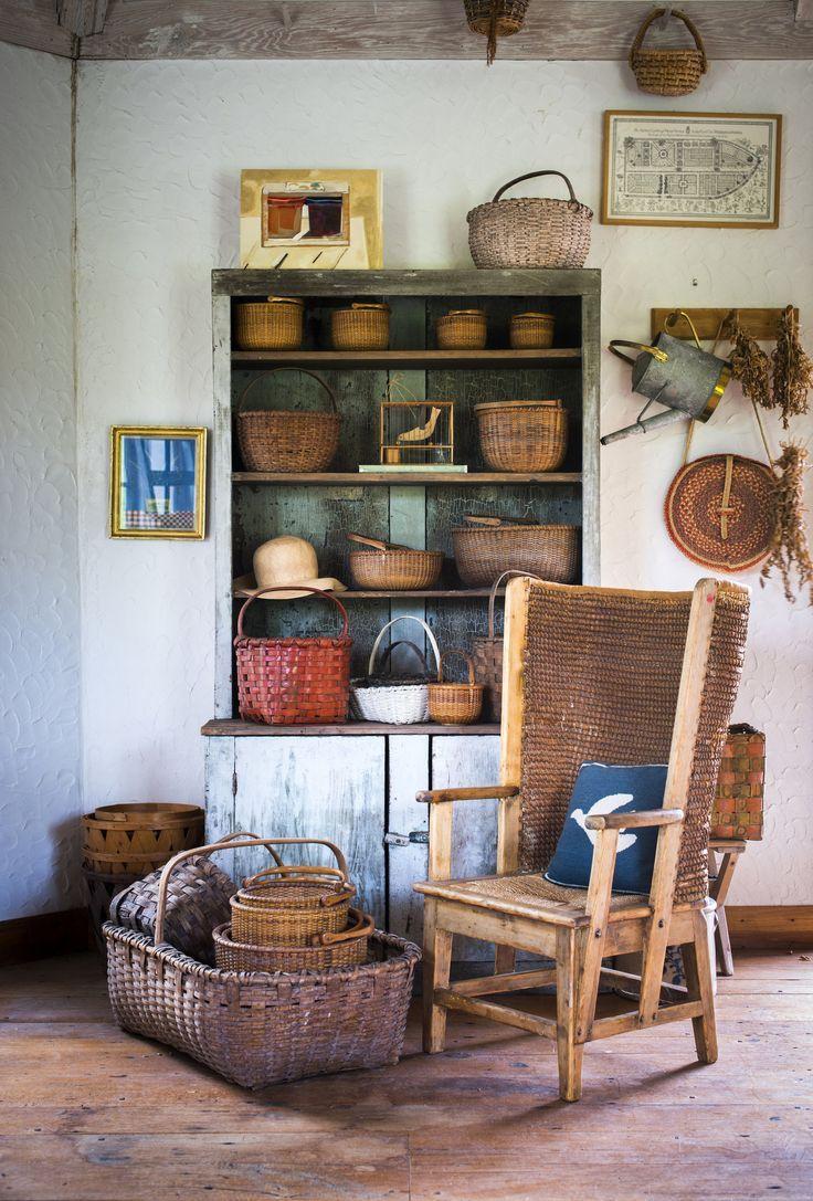 baskets - bunny mellon oak spring farms