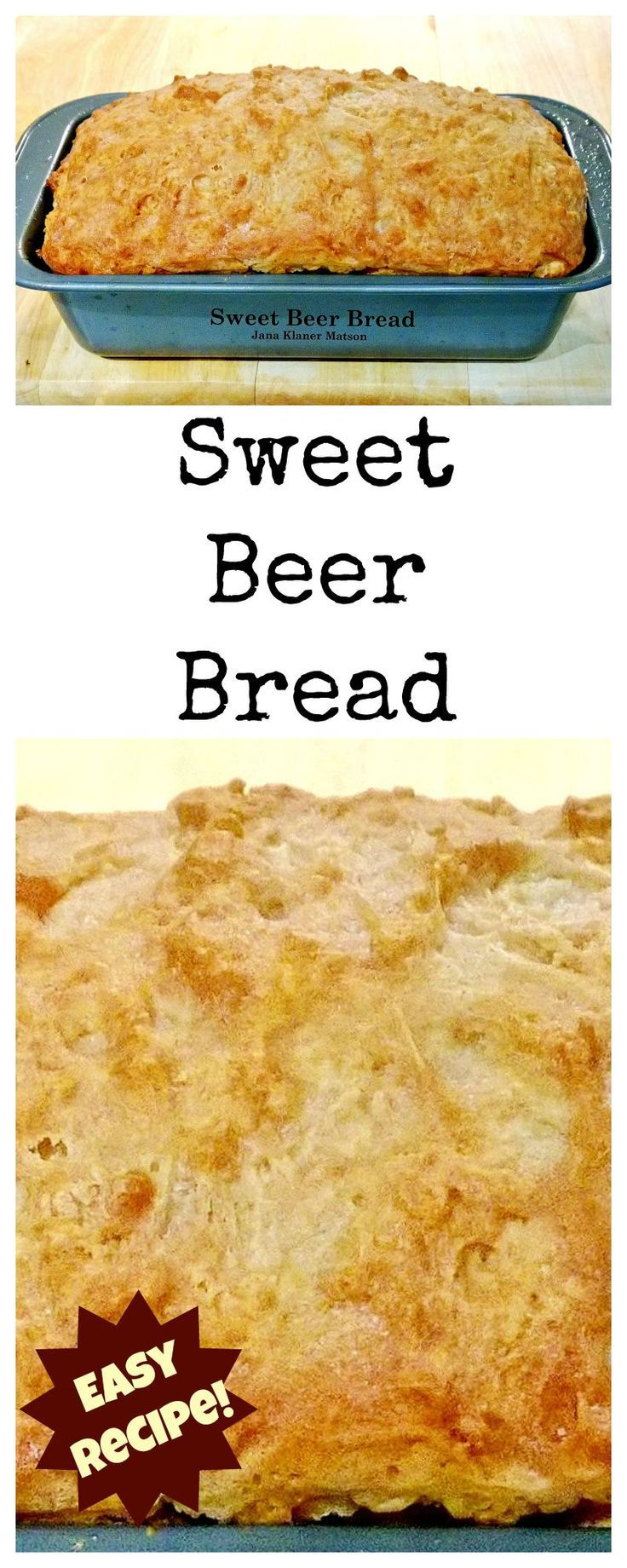 Sweet Beer Bread A VERY easy recipe, flexible to eat as a side or to have with a nice cup of afternoon tea! Always a favorite!