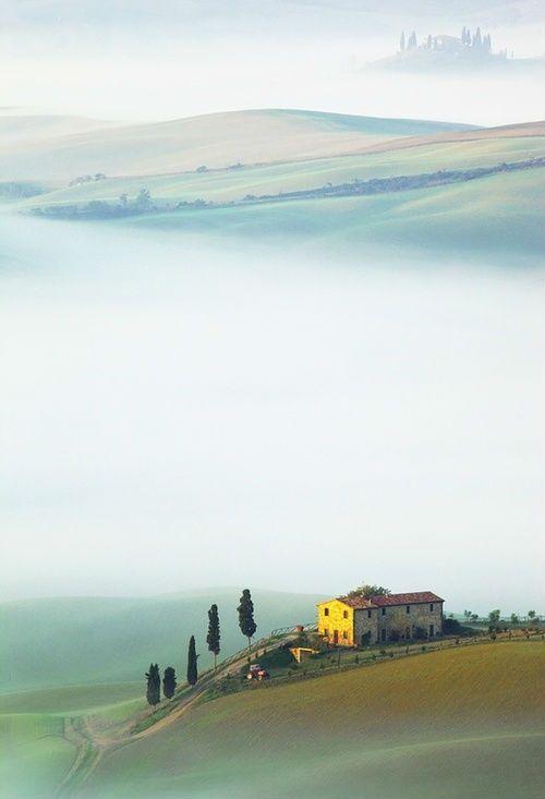 Tan bella, tan deliciosa... La Toscana italiana.