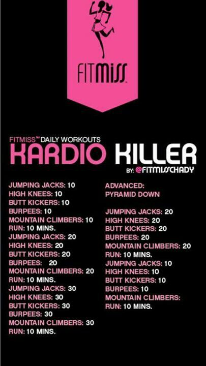 Fitmiss Kardio Killer