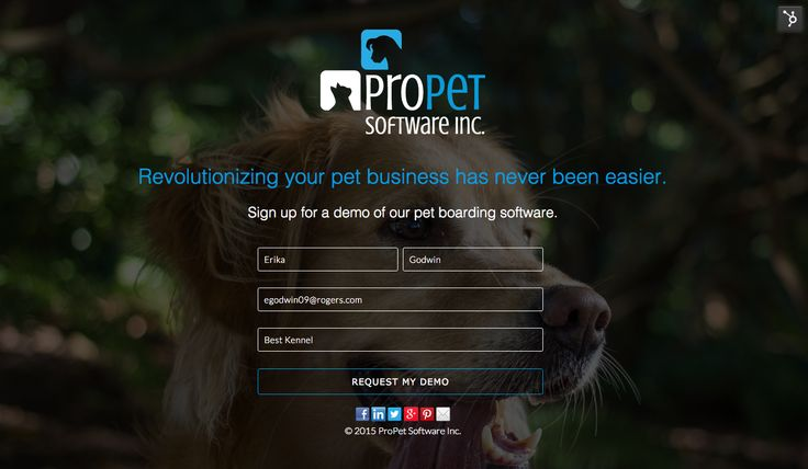 Revolutionizing your pet business has never been easier. Sign up for a demo of our pet boarding software.