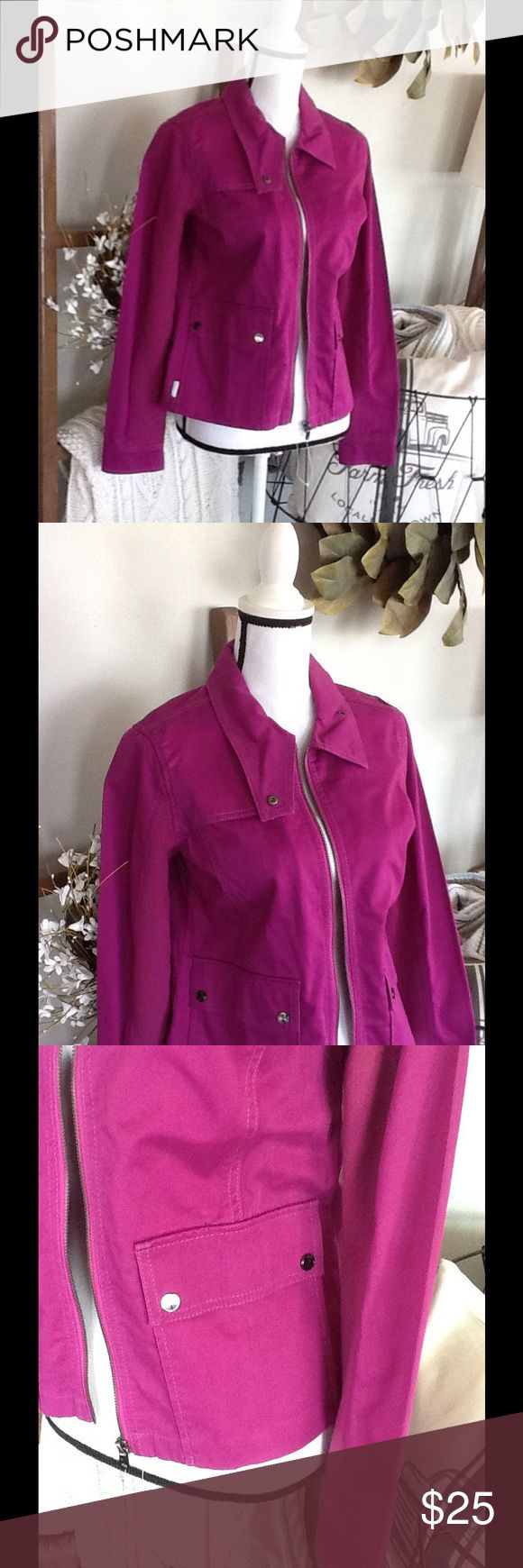 NEW LISTING: NWOT Lole' purple jacket Fits like a medium but is missing the size tag. Lole Jackets & Coats