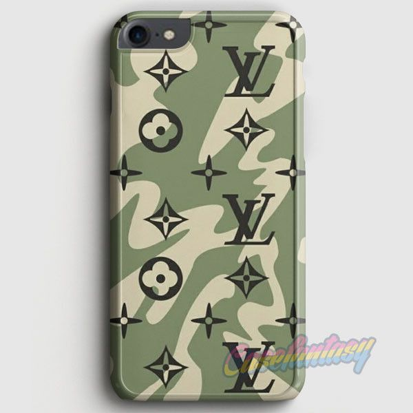 Louis Vuitton Camo Pattern iPhone 7 Case | casefantasy