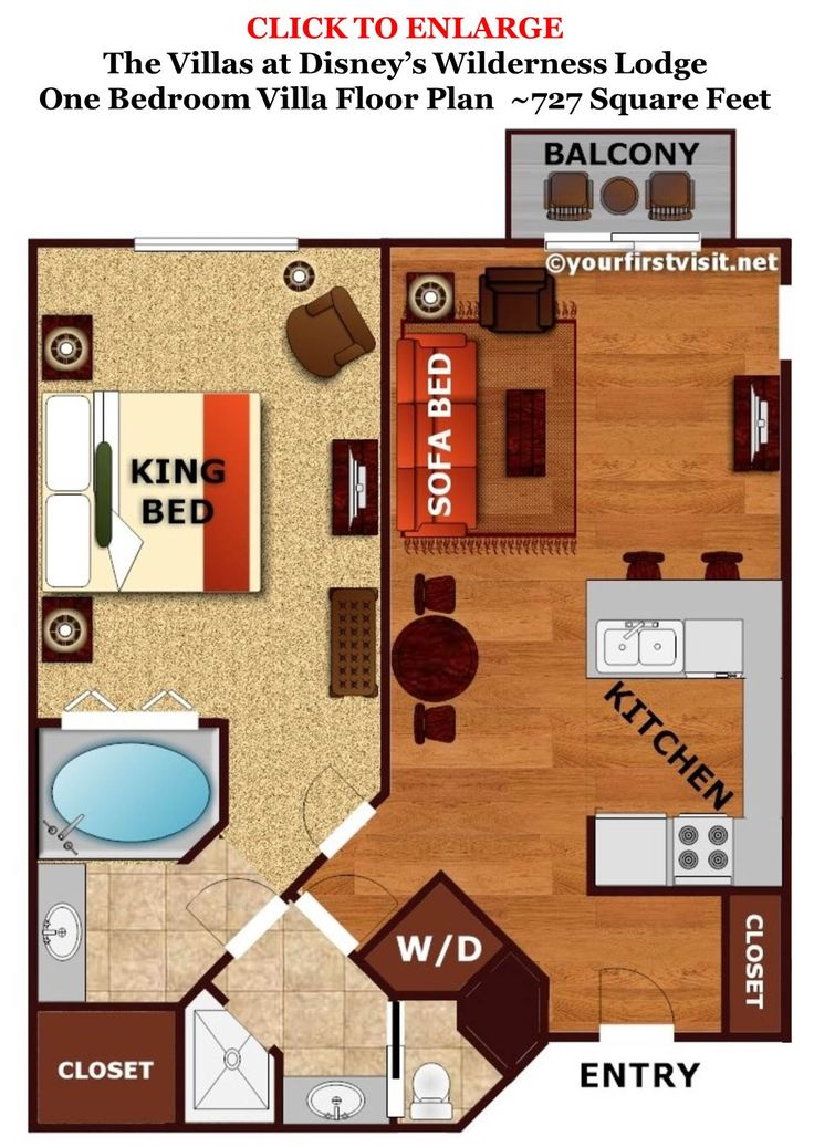 27 best Disney Hotel Room Layouts images on Pinterest | Disney ...