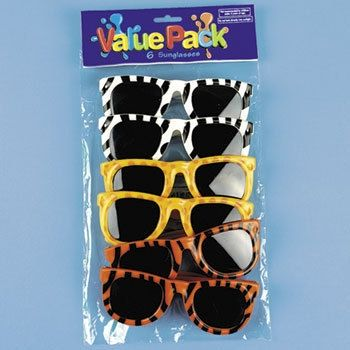 Safari Party Sunglass Party Favors (6 ct)