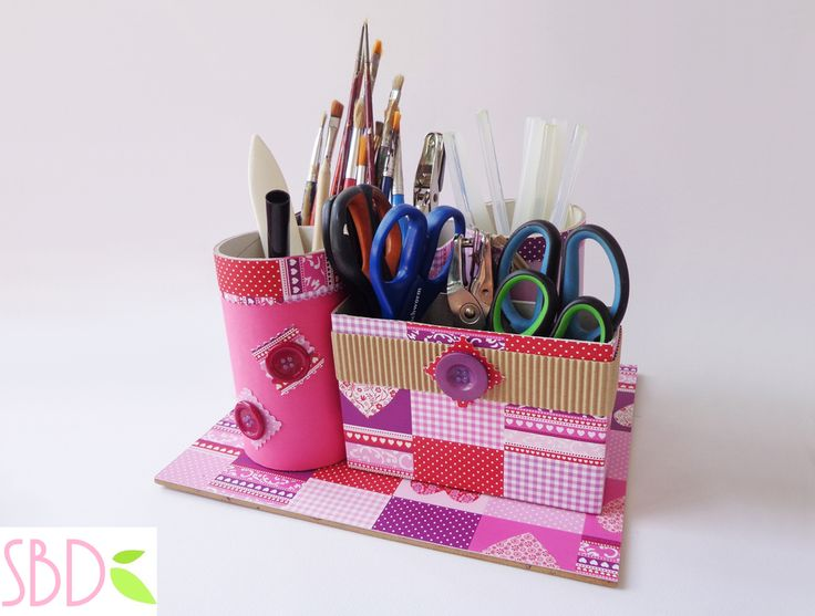 Sweet Bio design: Porta Oggetti con Riciclo - Objects holder with recycle