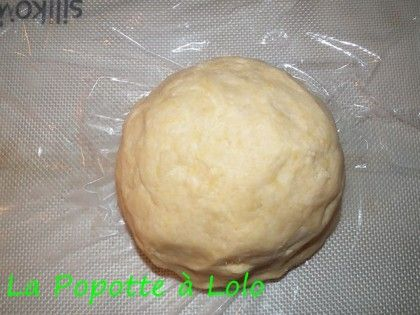 Pâte Sablée, salée au Parmesan (thermomix)
