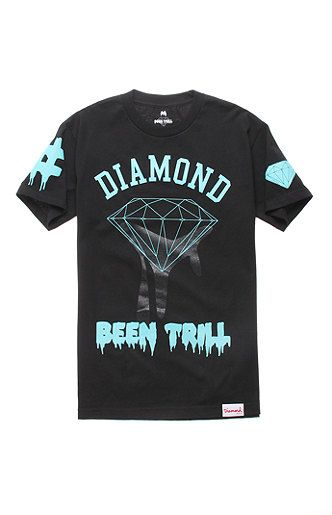 Been Trill x Diamond Supply Co Drip Tee