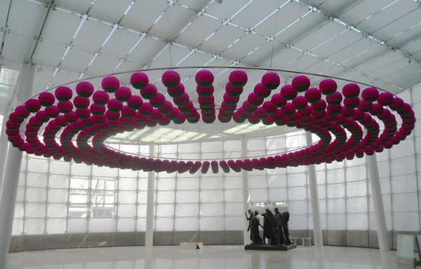 Kim Sooja, Lotus: Zone of Zero, Samsung Museum, Seoul, 2011