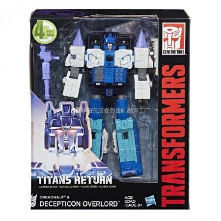 #transformer transformers titans return leader overlord
