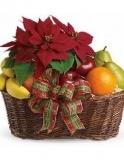 Poinsettia Fruit & Treats $39.99
