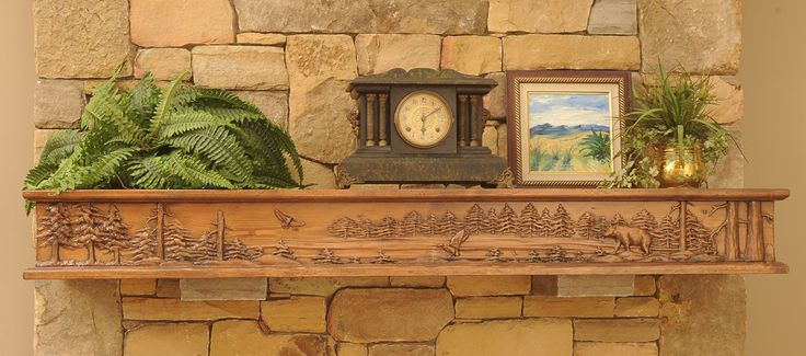 mensole camino | Fireplace Mantels & Shelves | Specialty Carved Fireplace Mantels ...