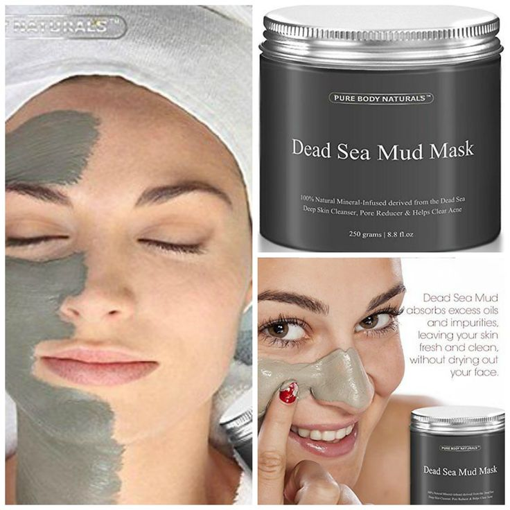 Sea clay facial skin care <3