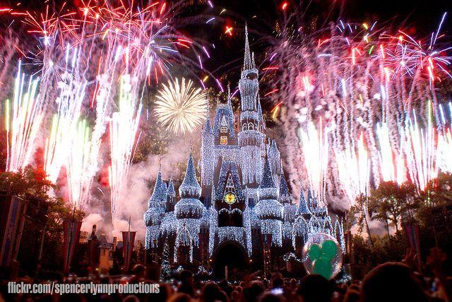 Best New Years Eve celebration ever! Disney World's Magic Kingdom 2008