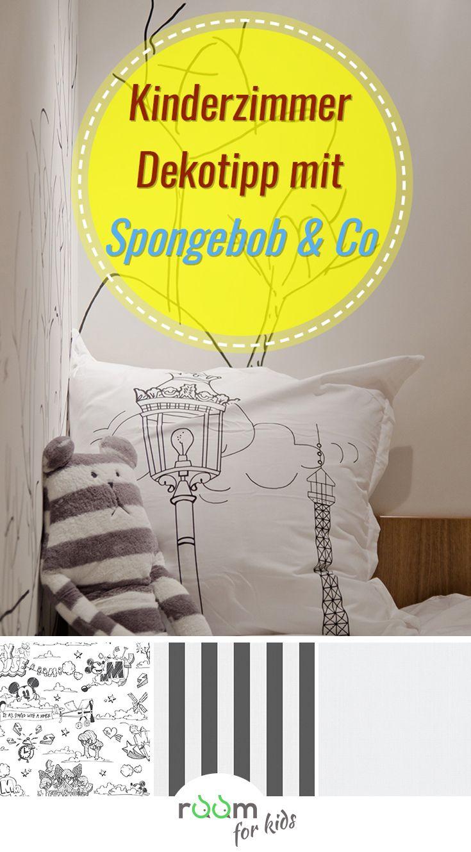 Kinderzimmer Deko Tipp Mit Spongebob Schwammkopf In 2018 Kids