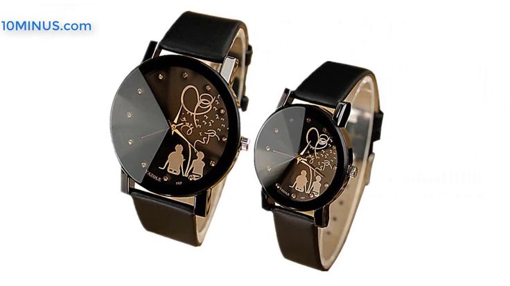 New collections of women's and men's watches - at 10minus.com