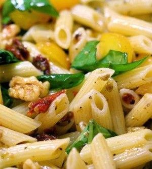 Sun-Dried Tomato And Walnut Penne