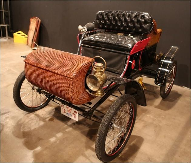 1903 Curved Dash Oldsmobile - One of America's Most Significant Antique Cars - The first mass-produced, affordable automobile paved the way for cars to compete with horses as a reliable form of transportation. (photo: Bill Jacomet)