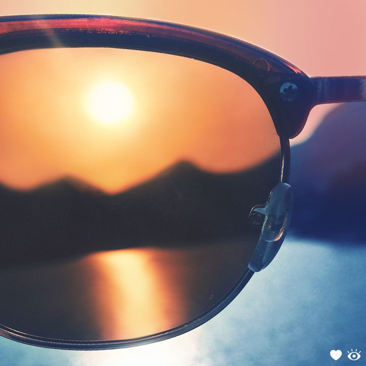 Did you know eyes are most at risk from UV rays at dawn and dusk? Keep them protected by having your shades handy at sunrise and sunset.