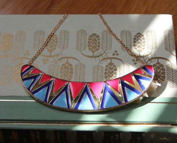 Hey, I found this really awesome Etsy listing at https://www.etsy.com/listing/188492292/womens-necklace-aztec-necklace-bib