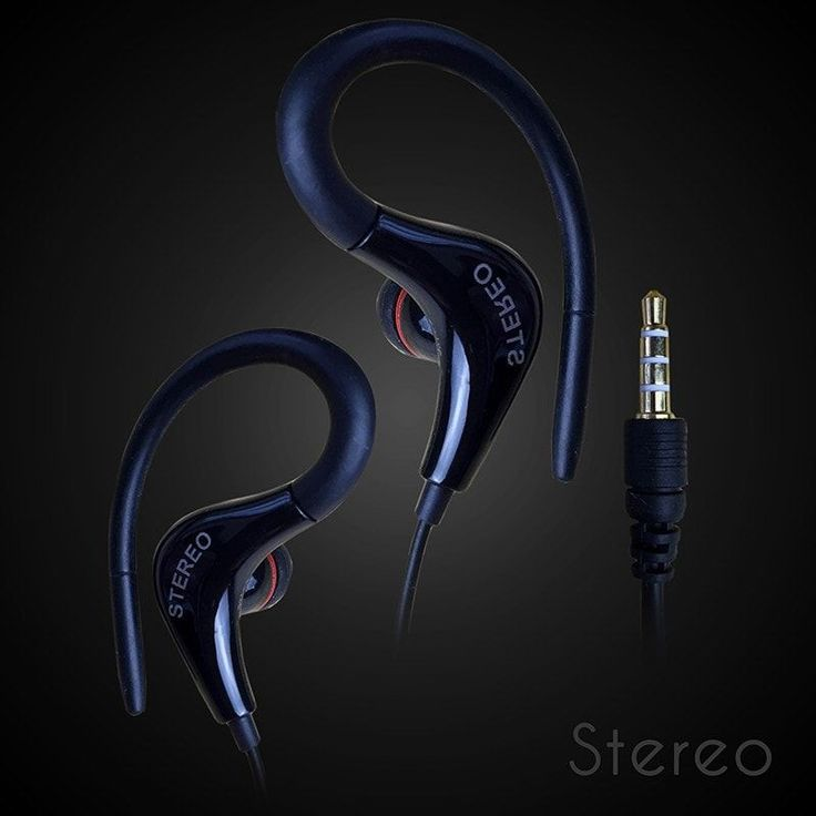 Bass Headphone with Mic for Running