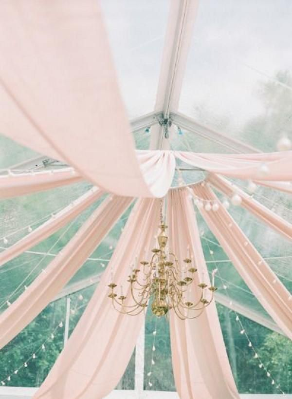 Pink and Gold Rehearsal Dinner Wedding Decor Ideas