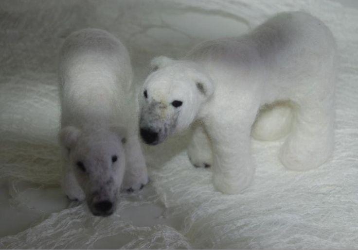 ijsberen november 2013 Gea Andriessen facebook.com/degroeneuil