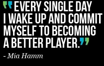 hard work mia hamm - Google Search