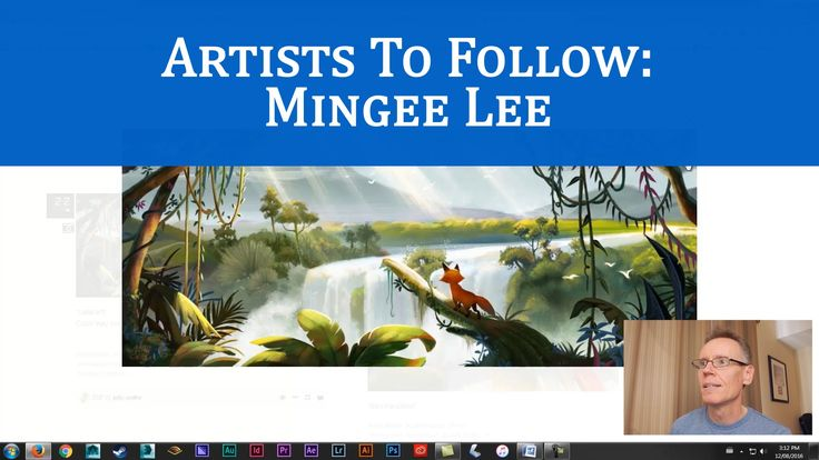 Animation Concept Designers: Mingee Lee
