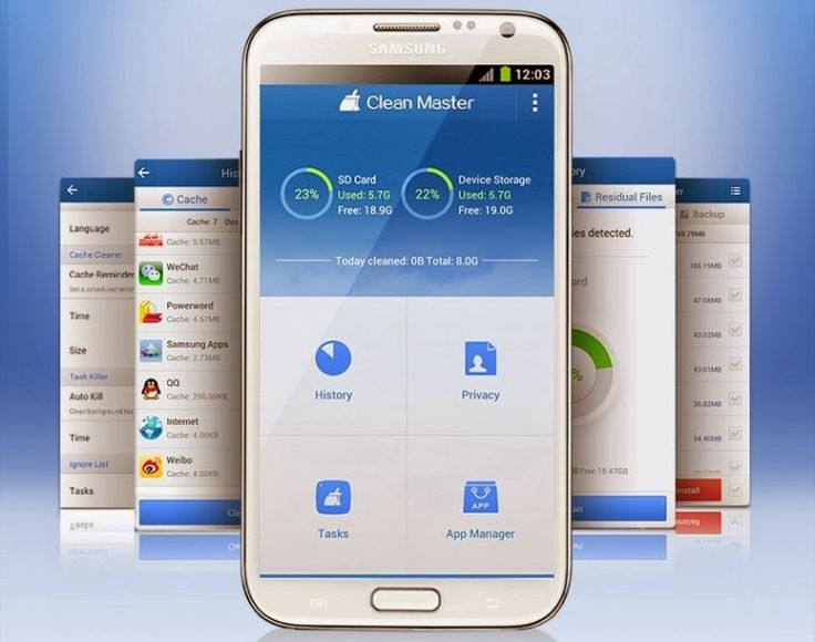 Clean Master  provides every possible tool you need to improve the performance of your Android d...