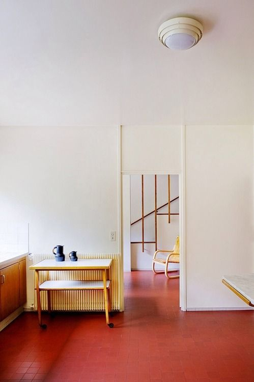 home of alvar aalto - photo by bruno suet via kelsey rose ceramics
