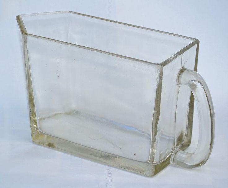 Skleněné dózy - hutní #sklo