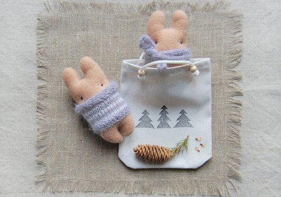 Original Gift, Christmas Ornament, Art doll, Small Toy