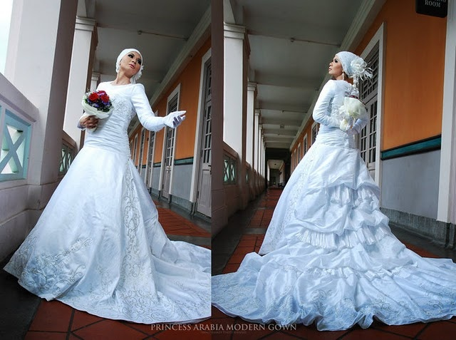 17 Best Images About Muslimah Wedding Dresses On Pinterest