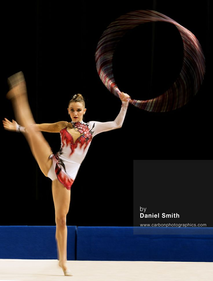 June 01, 2014 - Melbourne, Victoria, Australia - AMY QUINN of Western Australia performs with the hoop during the Senior Rhythmic Gymnastics finals at the Australian Gymnastic Champsionships at Hisesne Arena. Quinn placed 2nd in the Championships with the hoop and was selected to represent Australia at the 2014 Commonwealth Games.