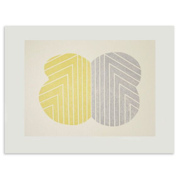'Eucalyptus Leaves' by Emma Lawrenson at littleprintpress onn Etsy. £125