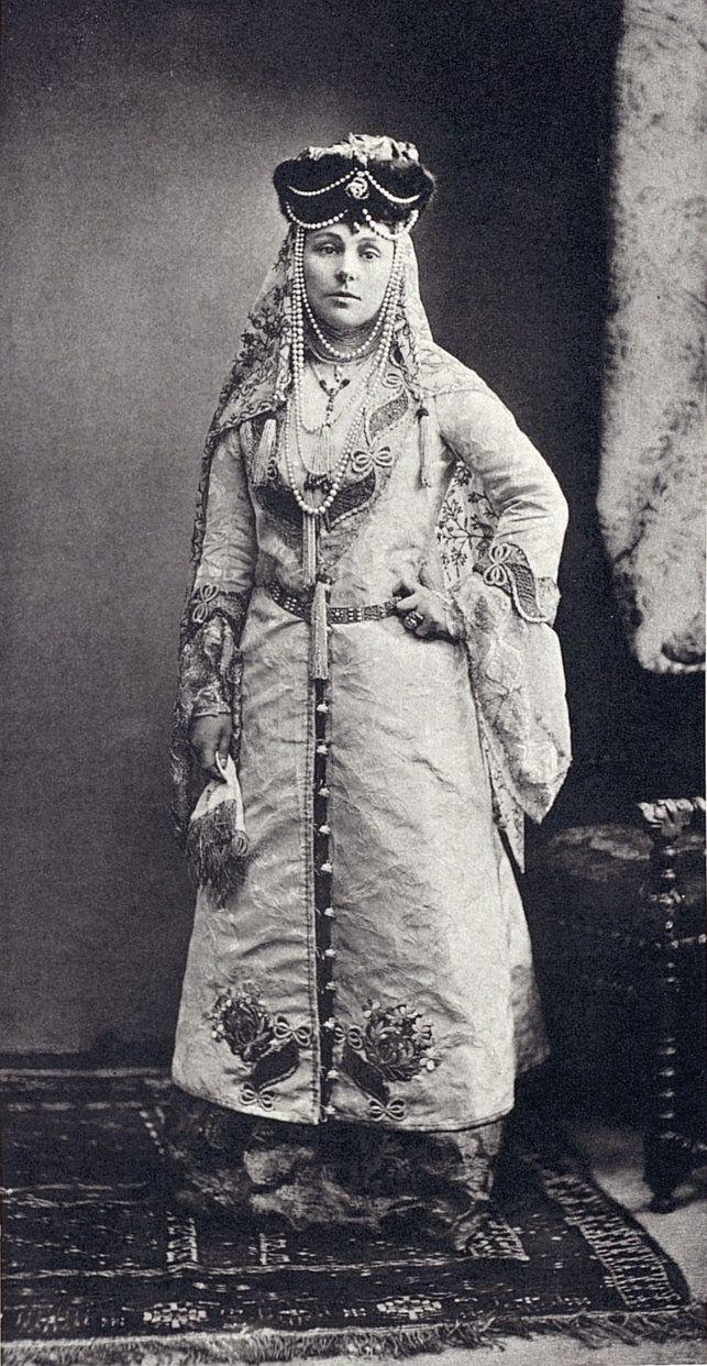 Countess Woronzow-Daschkow, nee Orlow (Femme cosaque; XVII siecle) ....068 by klimbims on deviantART
