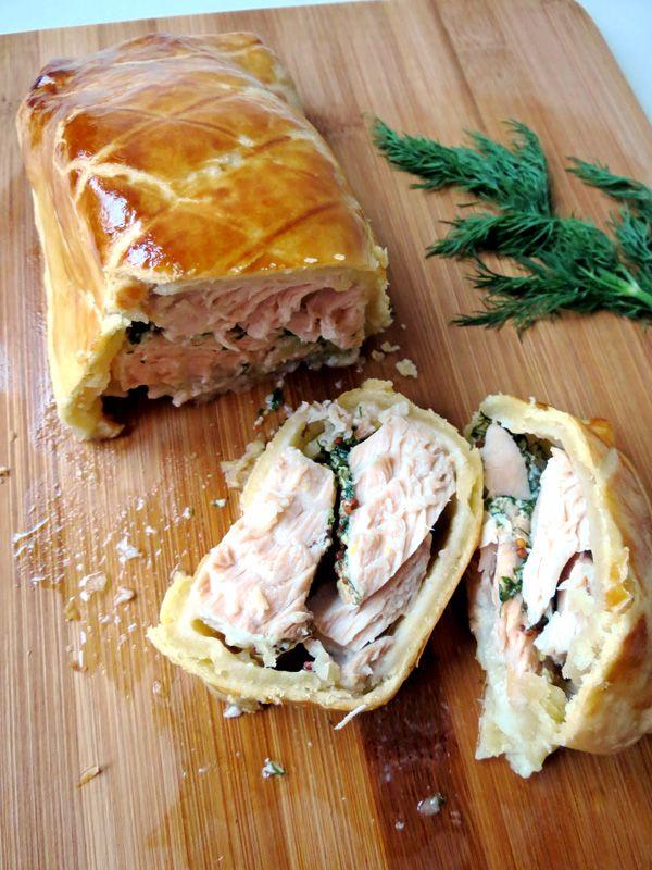 Super Simple Salmon Pie Recipe   YummyAddiction.com