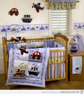 http://www.bawtie.com/4-best-baby-boy-room-themes/ 4 Best Baby Boy Room Themes : Coastal Baby Boy Room Themes