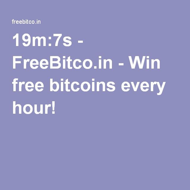 19m:7s - FreeBitco.in - Win free bitcoins every hour!