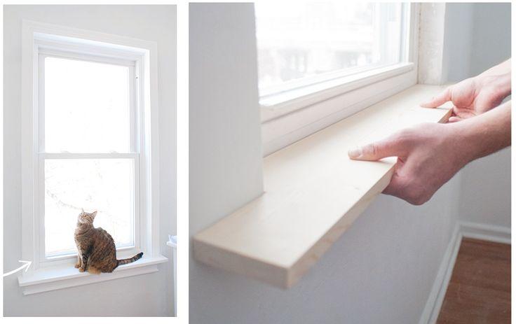 1000 ideas about window sill decor on pinterest window for Bay window sill ideas