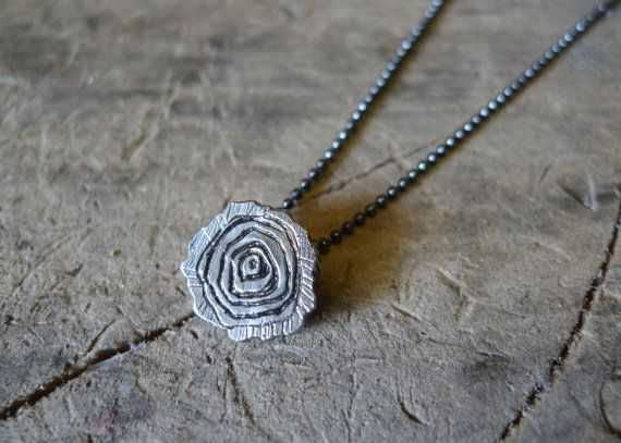 For the nature lover, Or for the Twin Peaks fanatic on your list. We're sure her log will have something to say about this! The Log Slice Necklace by #SlashpileDesigns on @etsy #giftguide