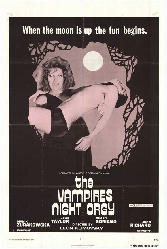 The Other Side blog: October Movie Challenge: Vampire's Night Orgy (1973)