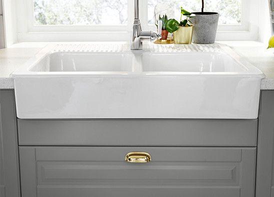 Oltre 25 fantastiche idee su cucina ikea su pinterest mobiletti di cucina cassetti della - Cucina rustica ikea ...